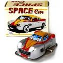 Silver Spacecar