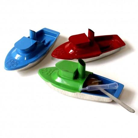 Hut pop-pop candle boat