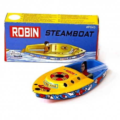 Robin pop-pop boat