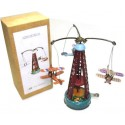 Plane Carousel with biplanes