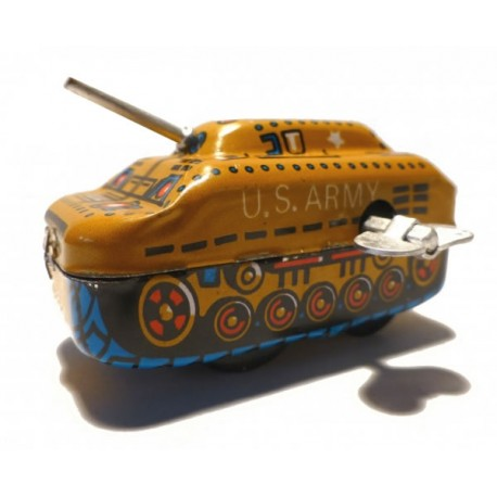 Panzer tank with camouflage