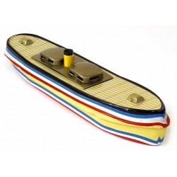 Pop-pop canal boat