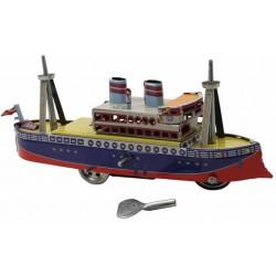 Ocean steamer
