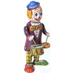 Drumming Clown
