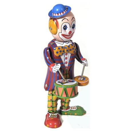 Drumming Clown
