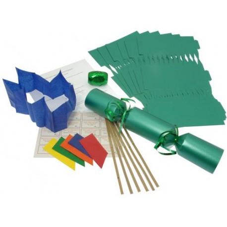 """Green 14"""" Cracker Kit"""