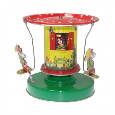 Snow white carousel