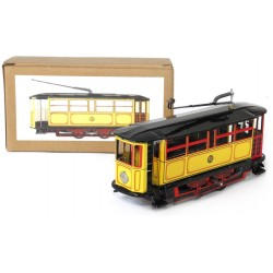 Large yellow tram