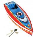 Racing boat