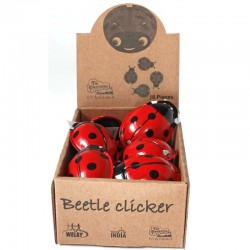 Clicking Ladybird box of 18