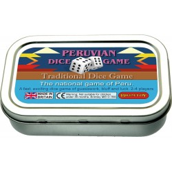 Pocket peruvian Dice Game