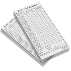 Bridge Score pads X2 (12 pack)