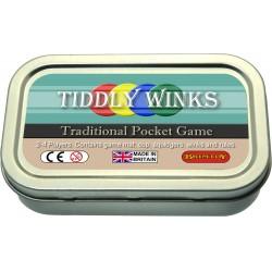 Tiddlywinks pocket game
