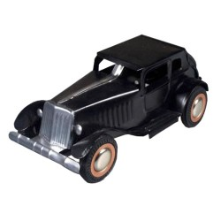Oldtimer Automobile - black