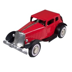 Oldtimer Automobile - red
