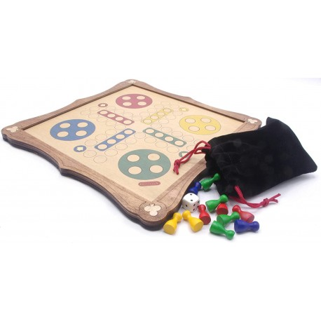 Ludo Traditional Wooden Board Game