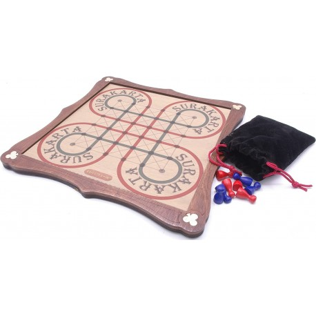 Surakarta / Permainan Wooden Board Game