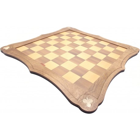 Wooden Chess / Draughts Board - 40 X 40cm