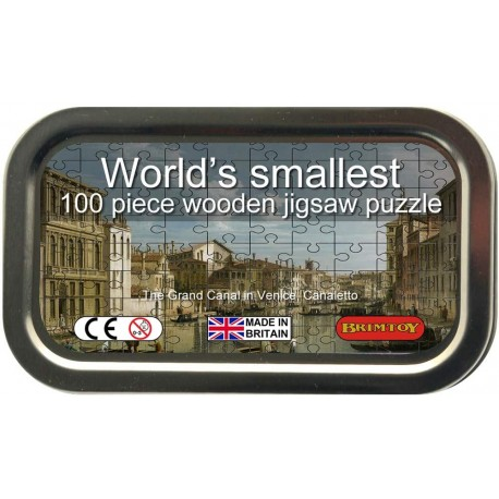 World's Smallest Wooden Jigsaw Puzzle, Canaletto