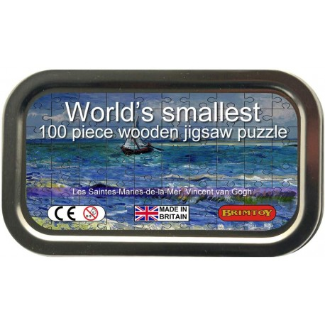 World's Smallest Wooden Jigsaw Puzzle, Van Gogh
