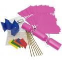 """Fuchsia Pink 14"""" Cracker Kit"""